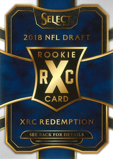 2017 Select Football XRC Redemption