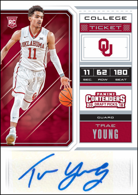 2018 Contenders Draft Picks Basketball Trae Young BLOG copy